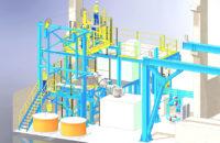 Intégration d'un four de coulée sur ligne de production